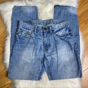 American Eagle Original Straight Cotton Jeans 30